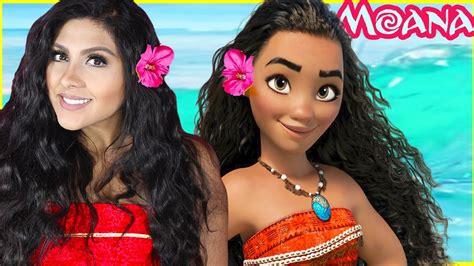 makeover woman 6 youtube moana inspired makeover tutorial disney princess movie