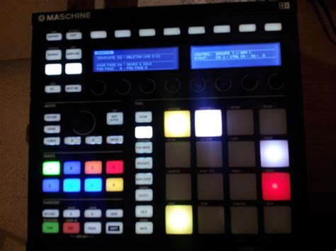 Maschine Mk2 Controller Editor Template For Ableton Live 9 V2 Ni Community Forum Instruments Controller Editor Templates