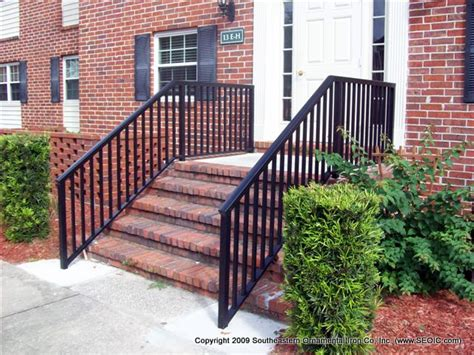 Metal Railings For Porches porch and step rails