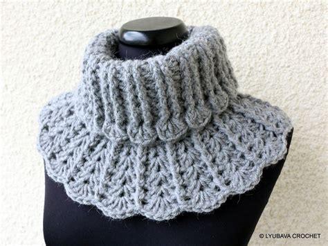 Crochet Neck Design Pattern | crochet neck warmer pattern winter scarf chunky by
