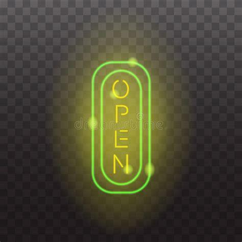 illuminati segni segni d ardore della luce al neon illuminati su fondo