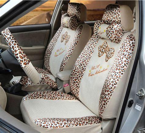 car seat cover or snowsuit 18pcs summer zebra car seat covers leopard beige silk