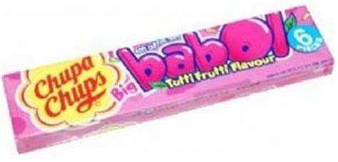 Big Babol Stick Strawberry 5s chupa chups tutti frutti big babol gum 27g