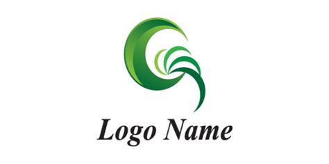design a company logo download free green moon company logo template psd file free download