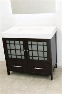 windbay 36 quot free standing bathroom vanity sink set