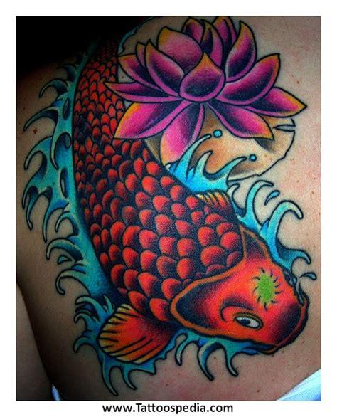 koi fish tattoo red and black koi fish tattoo red and black 3