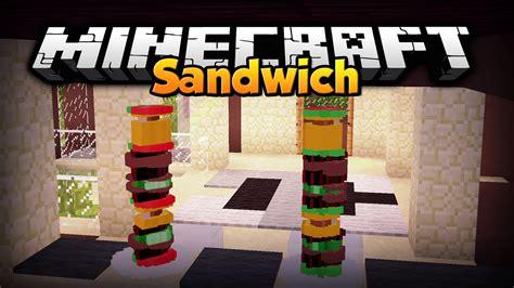 mod in minecraft youtube minecraft mod showcase sandwich mod 1 7 10 youtube
