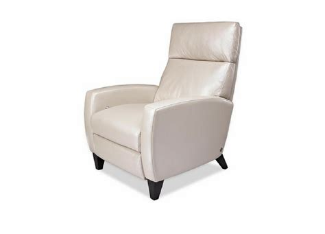 The Comfort Recliner by American Leather Elliot Comfort Recliner Three Chairs Co