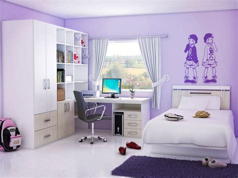 single room decoration simple bedroom design for teenage girl bedroom