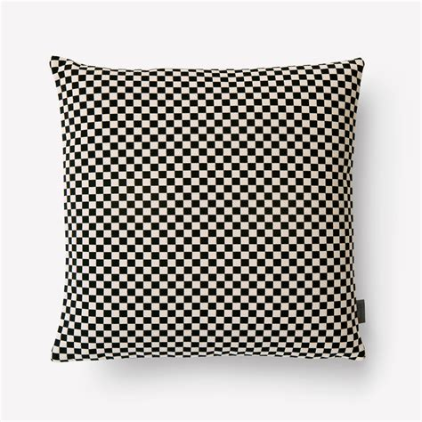 Girard Pillows by Maharam Product Pillows Checker Pillow 008 Black White