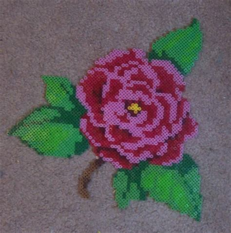 perler bead flower 38 best images about perler bead flowers on