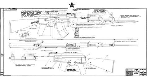 ak 47 blueprints ak 47 auto sear blueprints images