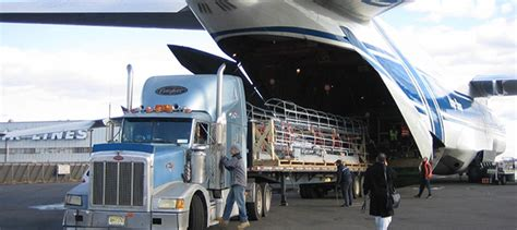 air freight services faster delivery times than other modes with the option to track the