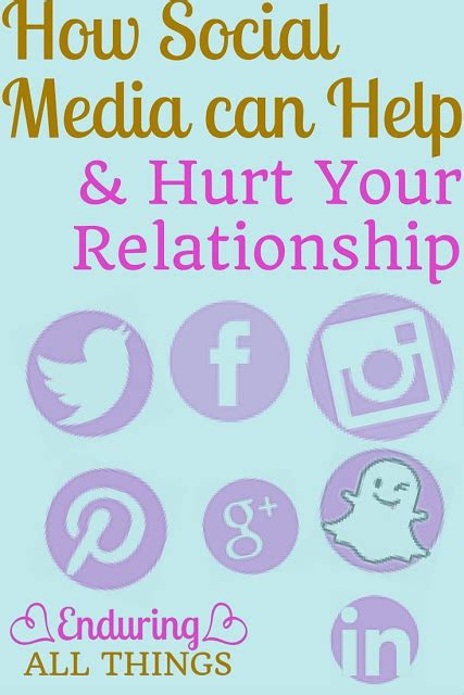 How Social Media Can Help Or Hurt Your Search How Social Media Can Both Help Hurt Your Relationships