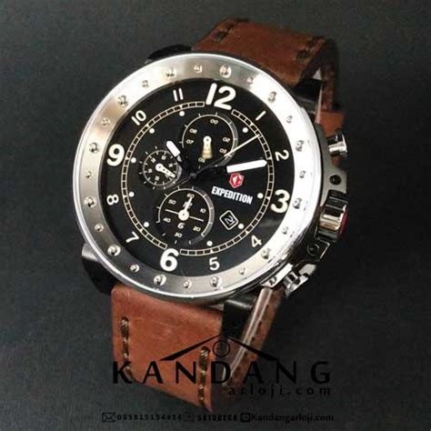 Jam Guess Collection Kulit Coklat jual expedition e 6681 m kulit coklat