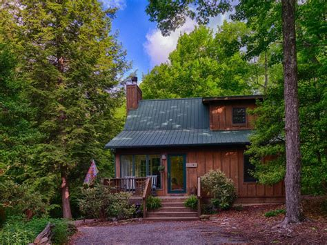 Forest Mountain Cabins by Cozy Mountain Top Cabin 13 Acres Near Dupont Vrbo