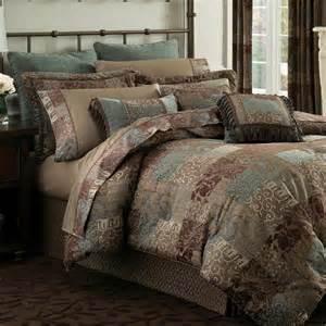 Chocolate Bedding Sets Galleria Ii Comforter Bedding By Croscill