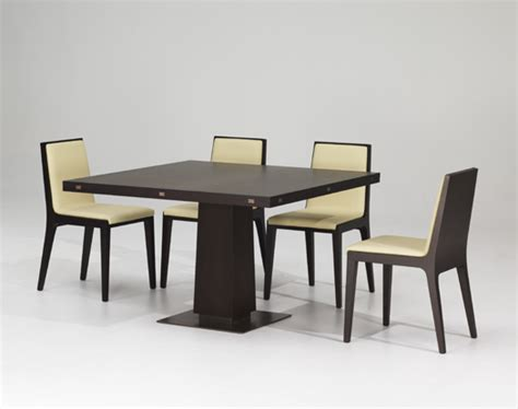 modern dining table modern expandable dining table with wooden finish petite