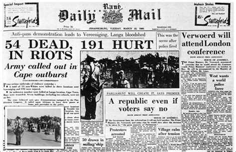 africa news news and headlines from south africa egypt human rights day sharpeville remembered