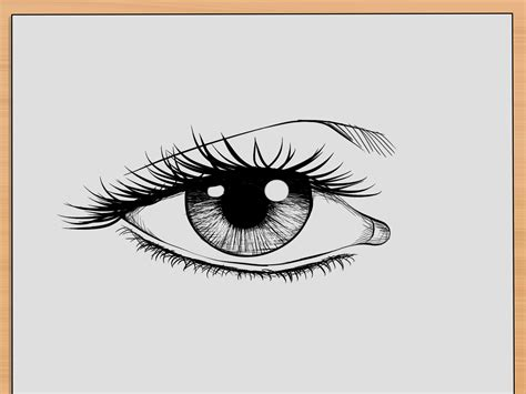 eye drawing how to draw realistic human 7 steps with pictures