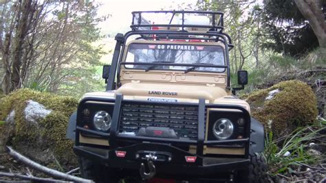 land rover defender safari rc4wd land rover defender 90 rock stompers safari youtube