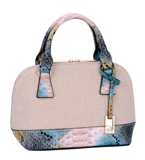 david jones beige blue bag beautyfashion bags blue