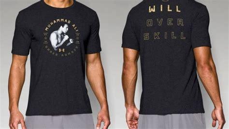 T Shirt Muhammad Ali Limited armour launches muhammad ali partnership with ua x