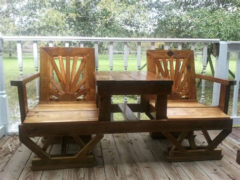 creative diy outdoor furniture plans