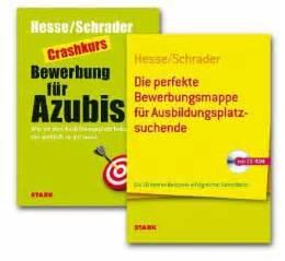Initiativbewerbung Anschreiben Hesse Schrader Bewerben F 252 R Azubis 2 Bde M Cd Rom J 252 Rgen Hesse Hans Christian Schrader Buch Buecher De