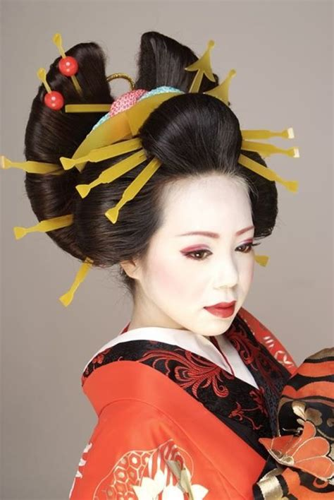 Traditional Japanese Hairstyles by Traditional Geisha Hairstyles Www Imgkid The Image