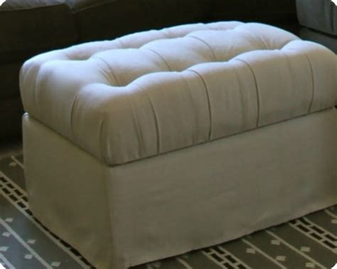 diy upholstered ottoman 50 creative diy ottoman ideas ultimate home ideas