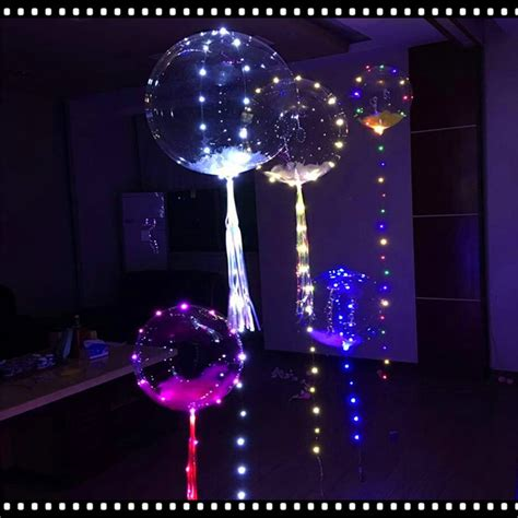 Balon Pesta Helium Led Luminious luminous led balloon led air balloon string lights helium balloons wedding