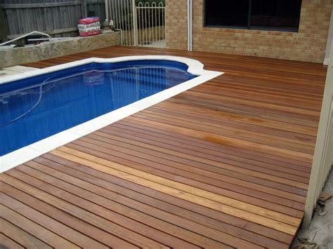 Rectangle House Plans Pool Decks Design Contractor Va Deck Wood Example Fairfax