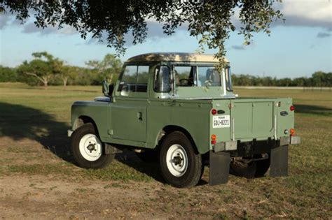 land rover series 3 swb land rover series 3 88inch swb 2 25 petrol 1984 for sale