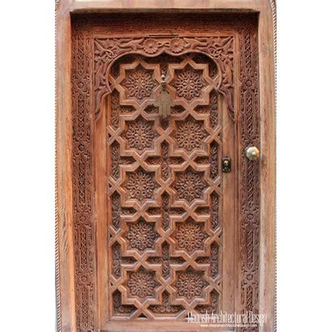 moroccan front door moorish entry door antique doors