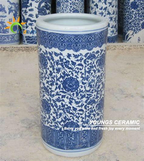 G Ci Ceramic G030 White vari 233 chinois bleu et blanc en c 233 ramique cylindre porte