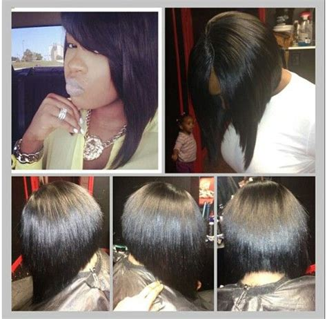 black asymmetrical bob sew ins sew hair style sew in bob hairstylegalleries com