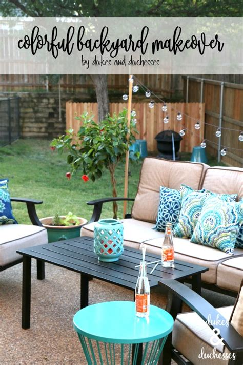 how to win a backyard makeover colorful backyard makeover dukes and duchesses