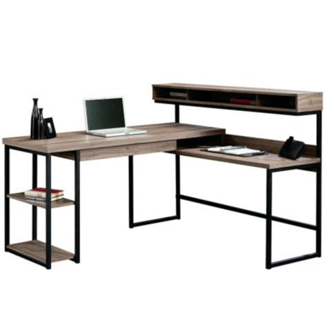 sauder transit l shaped desk transit l shaped modern computer desk 61wx59d