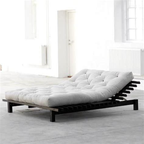 lit futon 200x200 lit blues king size 200x200 achat vente structure de