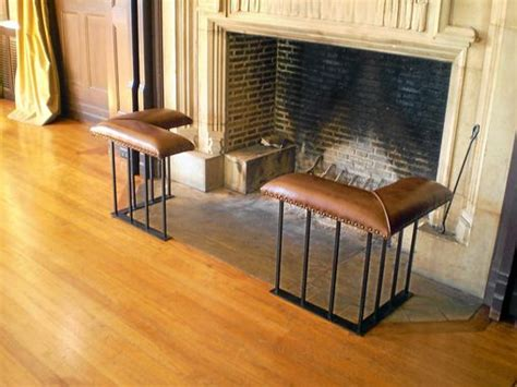 hand   english fireplace bench corner set model