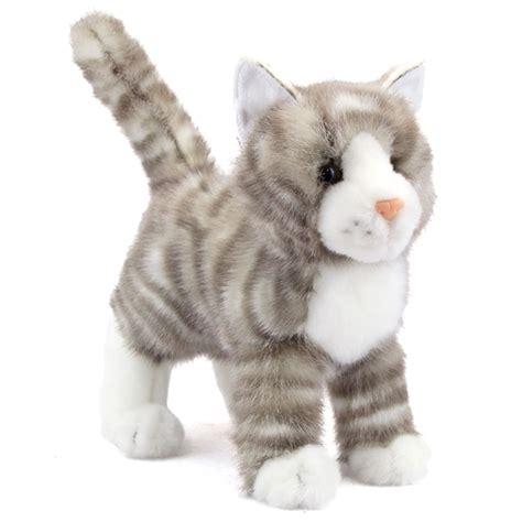 Ziper Cat zipper the plush gray tabby cat by douglas at stuffed safari
