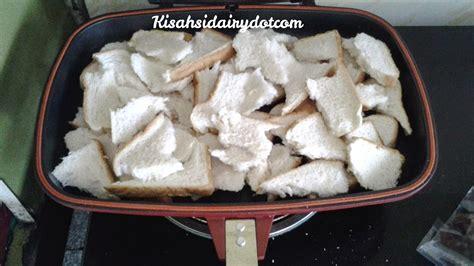 Pemanggang Roti Kecil puding roti pemanggang ajaib kisahsidairy