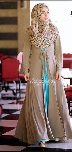 Dress Muslim Abaya Hikmat Fashion A192 Turquise beautiful dress muslim formal dresses beautiful muslim and