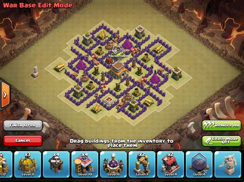 go wipe sweeper anti war air base th8 the windrunner th8 war base