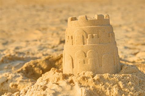 A Castle Of Sand sand castle quotes quotesgram