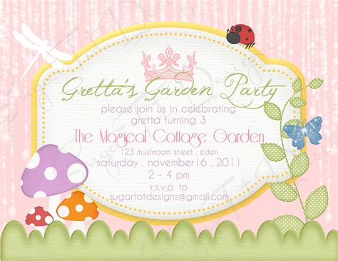 garden invitation template garden invitations dancemomsinfo