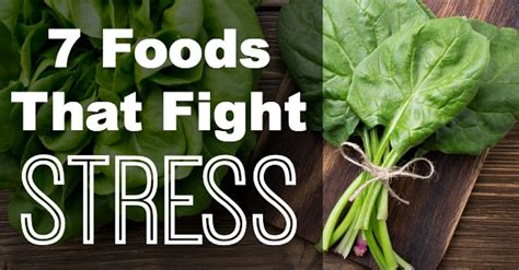 7 Foods To Combat Stress by 7 Foods That Fight Stress List Healthpositiveinfo