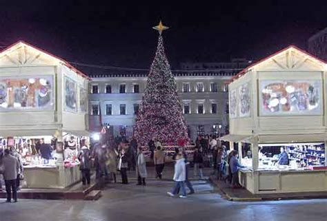 christamas decorations in greece athens photo gallery picture of greece