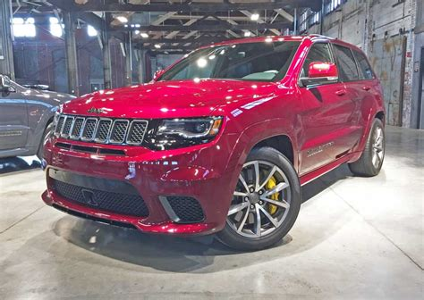 Fastest Jeep 2018 Jeep Grand Trackhawk The Fastest Grandest
